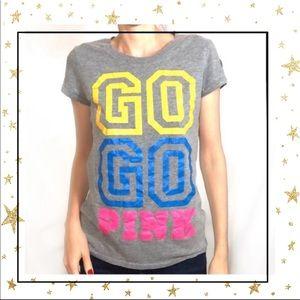 5/25$⭐️Pink VS GO Short sleeve t-shirt Large (C5)
